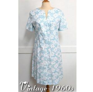 Vintage 1960s Style Sheath Dress size 12